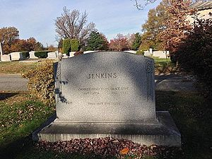 Charles Francis Jenkins - Charles Francis Jenkins' tombstone at Rock Creek Cemetery, Washington DC