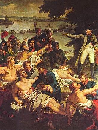 Charles Meynier - Detail : Napoleon on the Isle of Lobau
