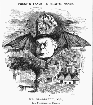 Edward Linley Sambourne - Image: Charles bradlaugh cartoon