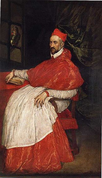 Charles, Cardinal of Lorraine - Portrait of Charles of Guise by El Greco.