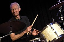 Charlie Watts on drums The ABC & D of Boogie Woogie (2010).jpg