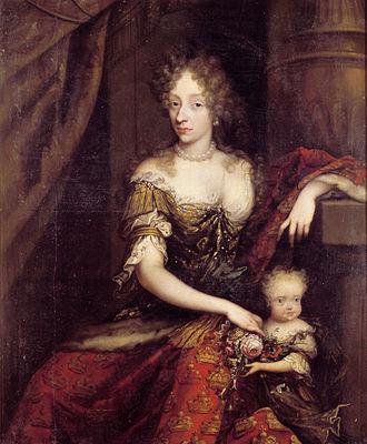 Charlotte Amalie of Hesse-Kassel - Charlotte Amalie of Hesse-Kassel 1690