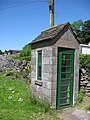 Chelmorton - Telephone Box with a difference - geograph.org.uk - 1369536.jpg