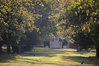 National Register of Historic Places listings in Essex County, Virginia - Image: Cherry Walk from the road