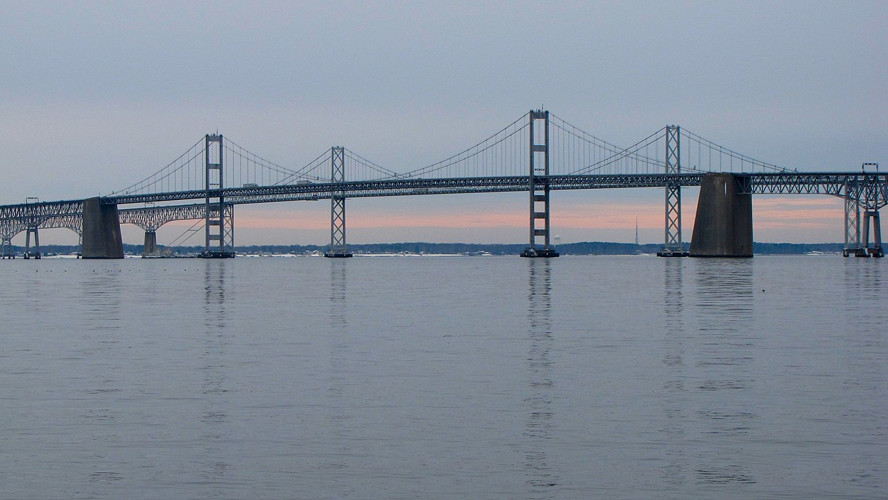 File Chesapeake Bay Bridge Viewed From Sandy Point State