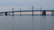 Chesapeake Bay Bridge viewed from Sandy Point State Park.jpg