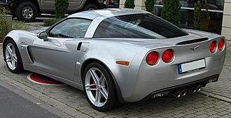 Chevrolet Corvette (C6) - Corvette Z06