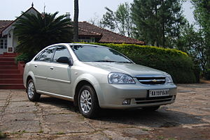 Chevrolet Optra - Image: Chevy Optra DSC 0475