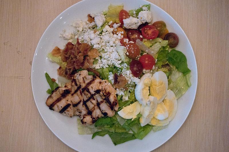 File:Chicken Cobb Salad - PINSTACK Plano (2015-04-10 19.42.14 by Nan ...