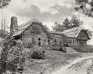 Genesee, Colorado - Chief Hosa Lodge, Genesee Mountain Park, built 1917