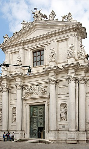 I Gesuiti, Venice - Facade of the church