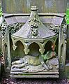 Child's grave in Haworth churchyard (2598601464).jpg