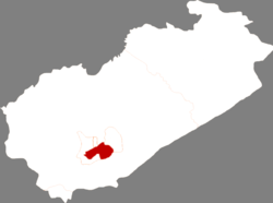 Location of the county