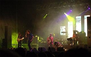 !!! American dance-punk band