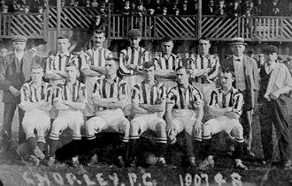 Chorley F.C. - Image: Chorley 1907 08