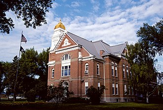 National Register of Historic Places listings in Chouteau County, Montana - Image: Chouteau County Courthouse