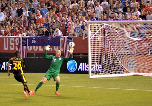Christian Benteke goal vs. Brad Guzan USA vs Belgium