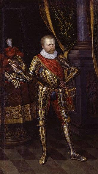 Christian I, Elector of Saxony - Christian I. in armor