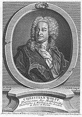 Christian Freiherr von Wolff (Quelle: Wikimedia)