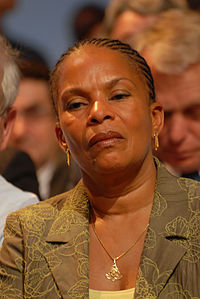 Christiane Taubira - Royal & Zapatero