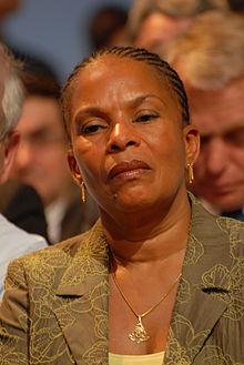 Christiane Taubira, le 19 avril 2007.