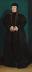 Hans Holbein: Portrait of Christina of Denmark, Duchess of Milan