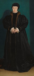 <i>Portrait of Christina of Denmark</i> painting by Hans Holbein the Younger