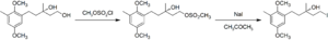 Finkelstein reaction - Image: Chrysochlamic Acid Finkelstein