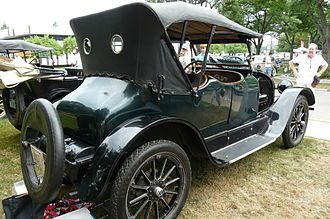Chevrolet Series D - Image: Chummy Roadster 3