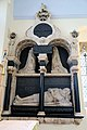 Church of St Christopher, Willingale, Essex, England - interior chancel south wall Wiseman monument.JPG