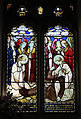 Church of St Christopher, Willingale, Essex, England - interior nave window 02.JPG