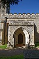 Church of St Mary the Virgin, Sheering, Essex ~ porch from south.jpg