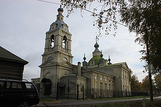 Naryshkin Baroque - Image: Church of the Intercession of the Holy Virgin panoramio (1)