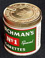 Churchmans No1 Special cigarettes, foto1.JPG