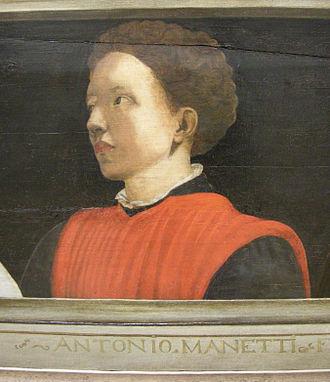 Antonio Manetti - Image: Cinque maestri del rinascimento fiorentino, XVI sec, antonio manetti