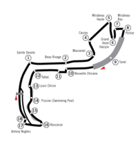 The Monaco circuit modified in 2003