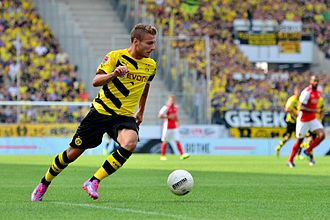 Ciro Immobile - Immobile playing for Borussia Dortmund in July 2014