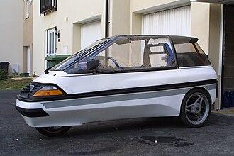 CityEl - 1992 Mini-El 'Basic' side view