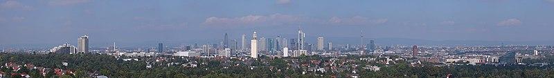 Cityscape Frankfurt 2009 panorama.jpg