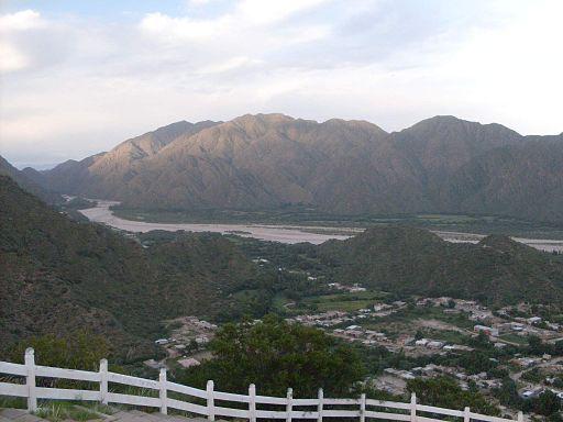 Ciudad y Río Belen desde el mirador