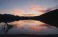 Civil twilight sunset over Sandy Lake (DSCF2996).jpg