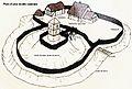 Cléden-Poher 34A motte castrale plan.jpg