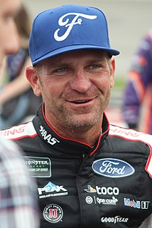 Clint Bowyer American racecar driver