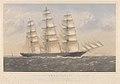 Clipper Ship Ambassador, A.1. 16 Years - Wm Lund Esq and others (Owners) Wm Walker Esq (Builders) RMG PY8583.jpg