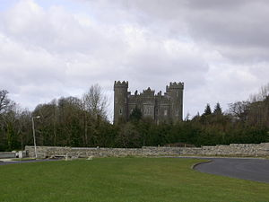 Richard Nugent, 1st Earl of Westmeath - Clonyn Castle, which the Earl built as the new family seat.