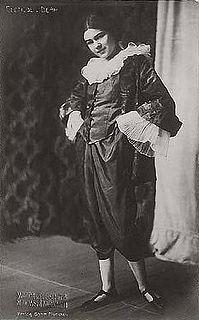 Clotilde von Derp German dancer