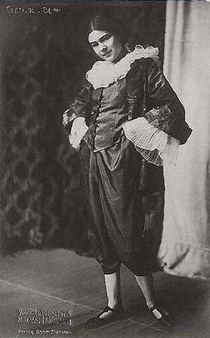 Clotilde von Derp - The dancer in costume in the 1920s by Wanda von Debschitz-Kunowski