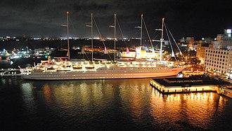 Port of San Juan - Club Med 2 in the Port of San Juan