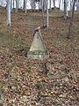 Cmentarz wojskowy z I wojny światowej na wzgórzu Pustki (Łużna) 13.JPG