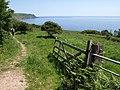 Coast path near Woodcombe Sand - geograph.org.uk - 844083.jpg